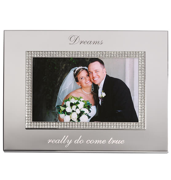 Personalized Brilliance 4 x 6 Photo Frame - View 2