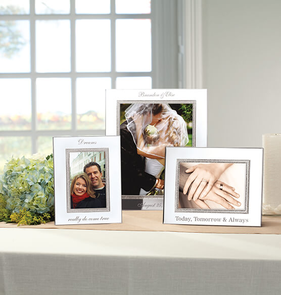 Personalized Brilliance 4 x 6 Photo Frame - View 4