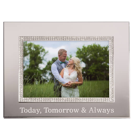 Personalized Brilliance 5 x 7 Photo Frame - View 2