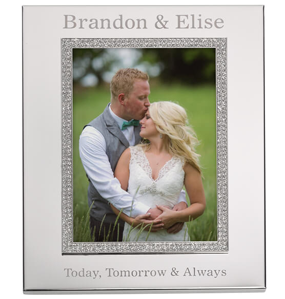 Personalized Brilliance 5 x 7 Photo Frame - View 3