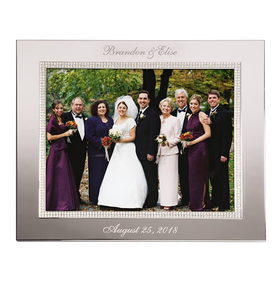 Personalized Brilliance 8 x 10 Photo Frame - View 2