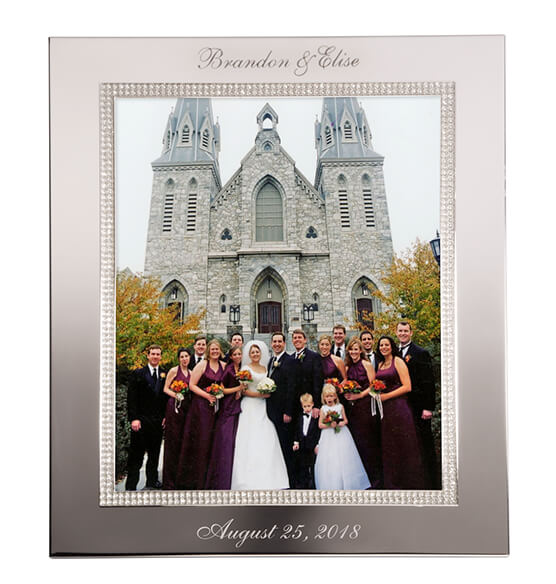 Personalized Brilliance 8 x 10 Photo Frame - View 3
