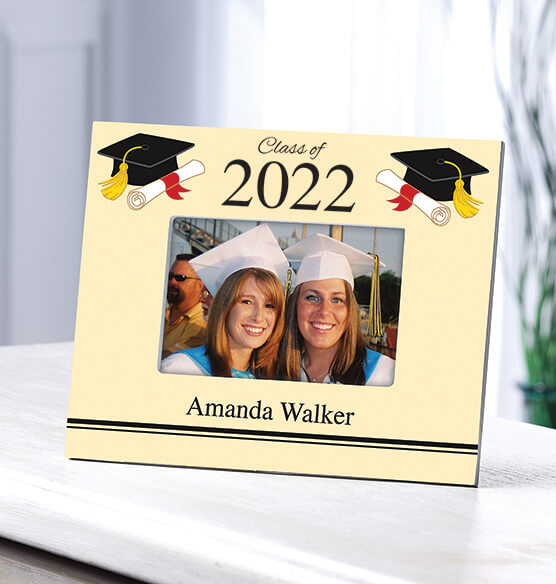 Personalized Cap & Scroll Graduation Frame - View 2