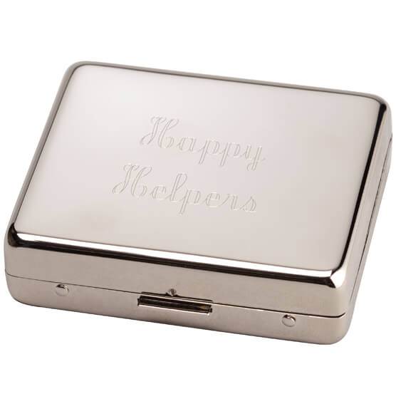 Personalized Metallic Pill Box 8 Day - View 2