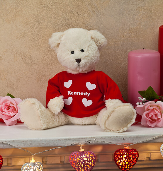 Personalized Valentine's Day Bear - View 2