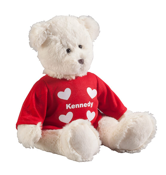 Personalized Valentine's Day Bear - View 3
