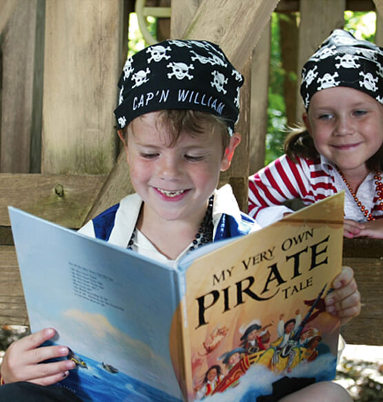 Personalized My Very Own® Pirate Tale Storybook - View 2