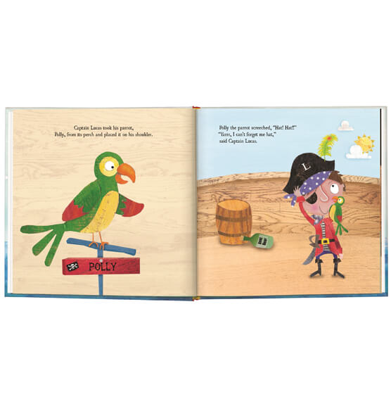 Personalized My Very Own® Pirate Tale Storybook - View 3
