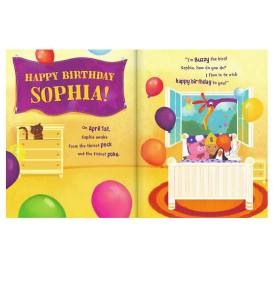 Personalized It's My Birthday Storybook - View 2