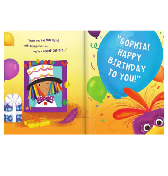 Personalized It's My Birthday Storybook - View 3