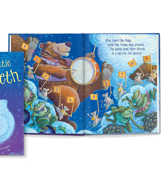Personalized Goodnight Little Me Storybook - View 3