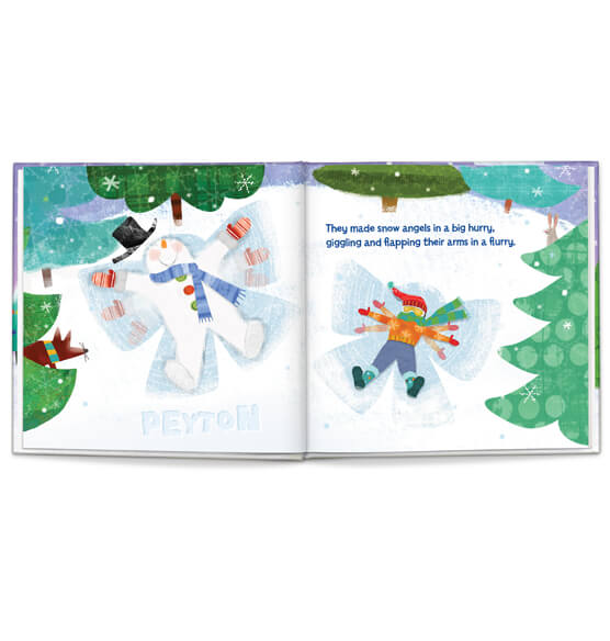 Personalized My Magical Snowman Storybook - View 2