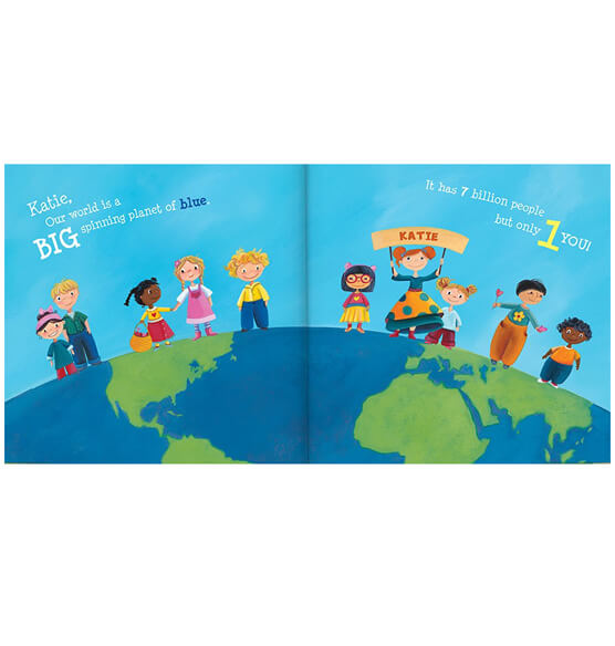 Personalized I Can Change the World Storybook - View 2