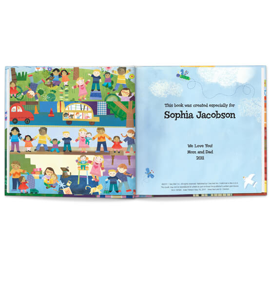 Personalized The Super, Incredible Big Sister Book & Medal Storybook - View 2