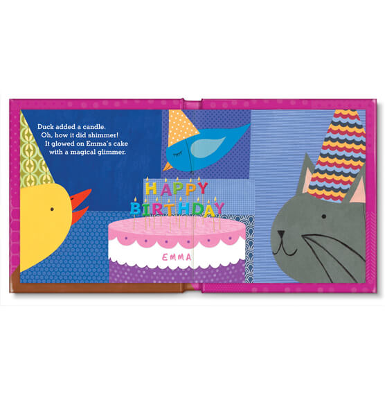 Personalized My Very Happy Birthday for Girls Storybook - View 2