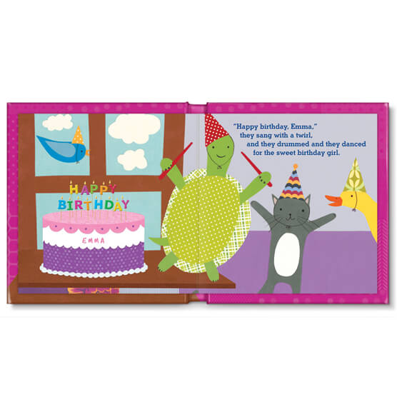 Personalized My Very Happy Birthday for Girls Storybook - View 3