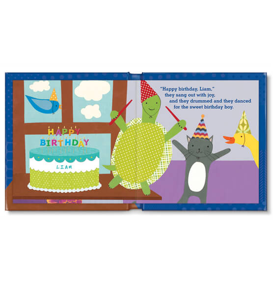Personalized My Very Happy Birthday for Boys Storybook - View 2