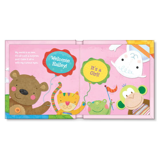 Personalized Hello World! for girls Storybook - View 3