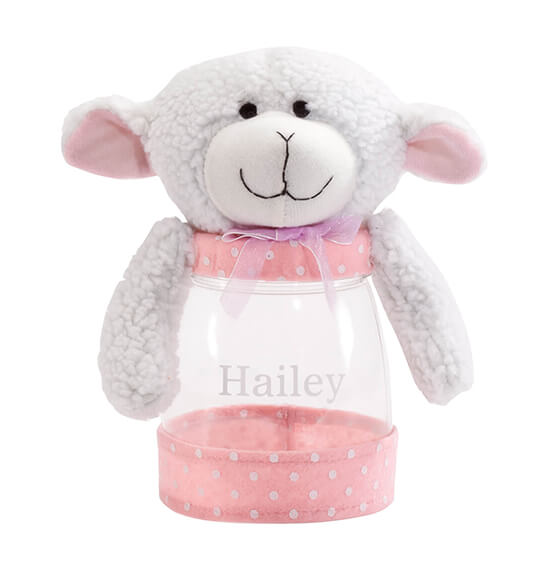 Personalized Easter Lamb Treat Jar - View 3