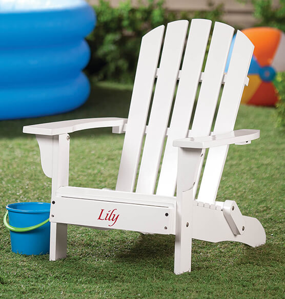 Personalized Children's Adirondack Chair - View 4