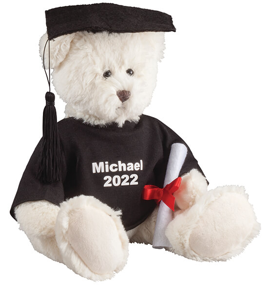 Personalized Graduation Bear - View 2