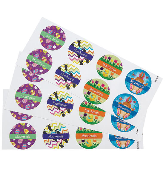 Personalized Easter Bunny Letter and Stickers - View 2