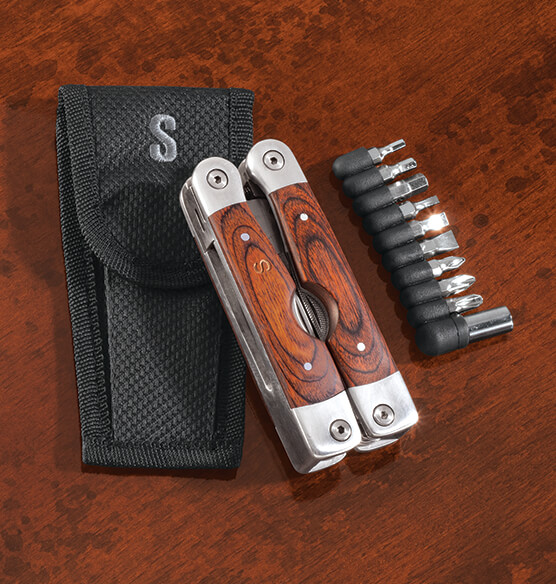 Personalized Multi Tool with Bits and Case - View 2