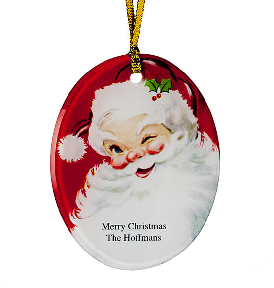 Personalized Jolly St. Nick Ornament - View 2