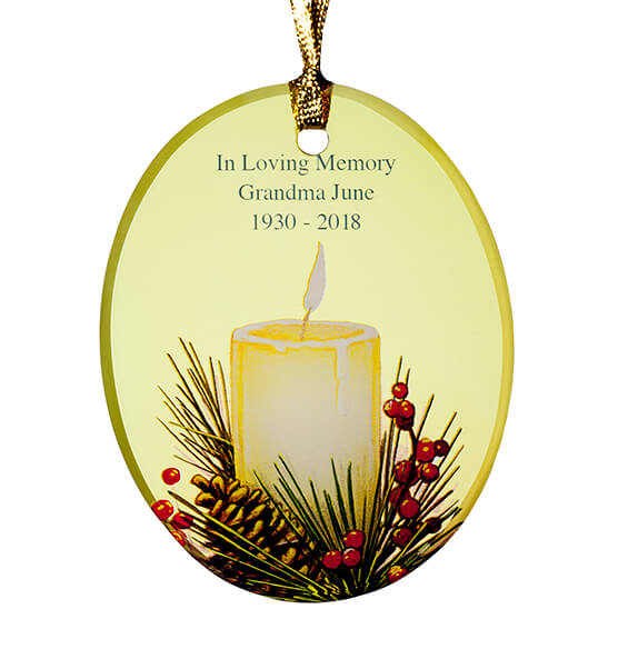 Personalized Candlelight Ornament - View 2