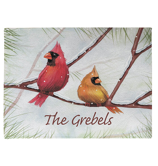 Personalized Snowbirds Doormat - View 2