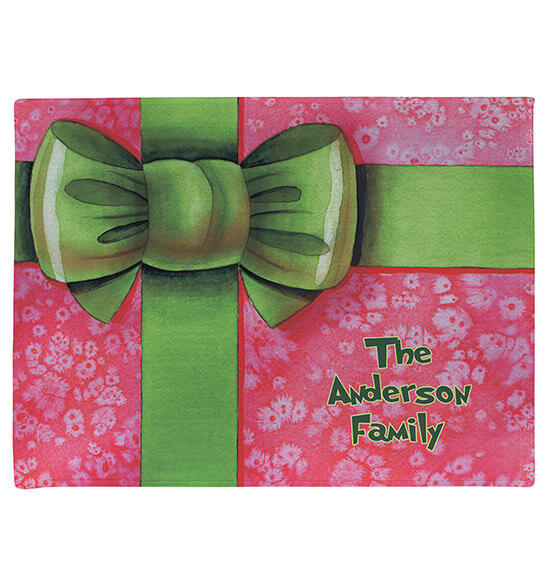 Personalized Merry Christmas Gift Doormat - View 2