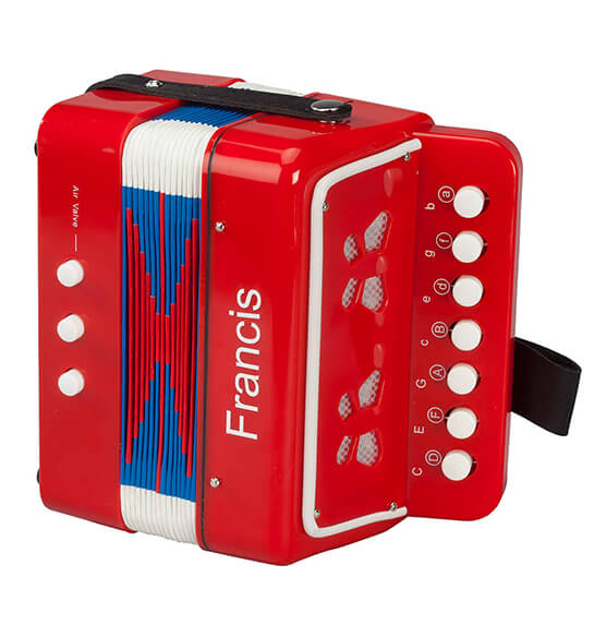 Personalized Children's Accordion - View 2