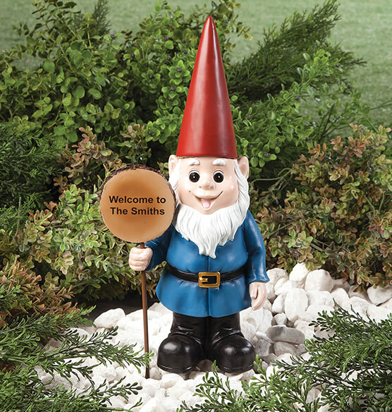 Personalized Resin Garden Gnome - View 2