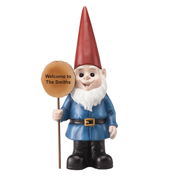Personalized Resin Garden Gnome - View 3