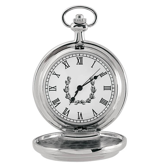 JFK Half-Dollar Coin Monogrammed Pocket Watch - View 3