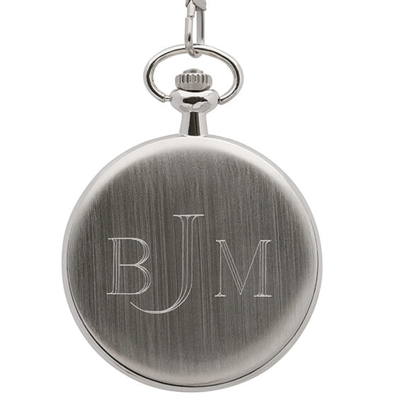 Presidential Seal Half-Dollar Monogrammed Pocket Watch - View 2