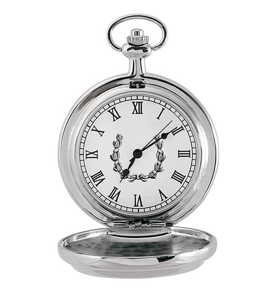 Presidential Seal Half-Dollar Monogrammed Pocket Watch - View 3