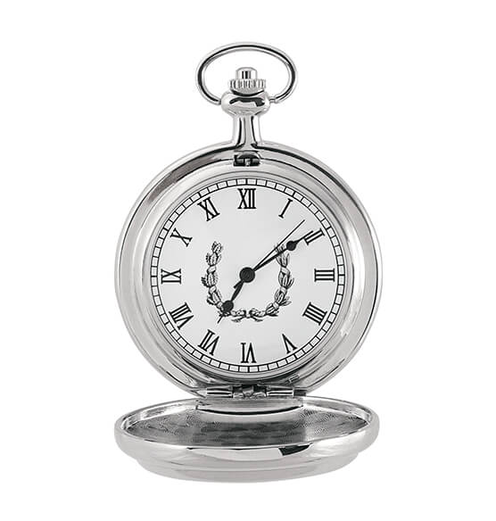 Year To Remember Monogrammed Half Dollar Coin Pocket Watch - View 4