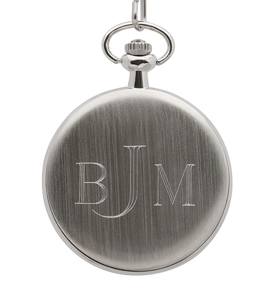 Year To Remember Monogrammed Half Dollar Coin Pocket Watch - View 5