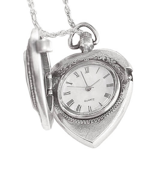 Year To Remember Coin Heart Watch Coin Pendant - View 2