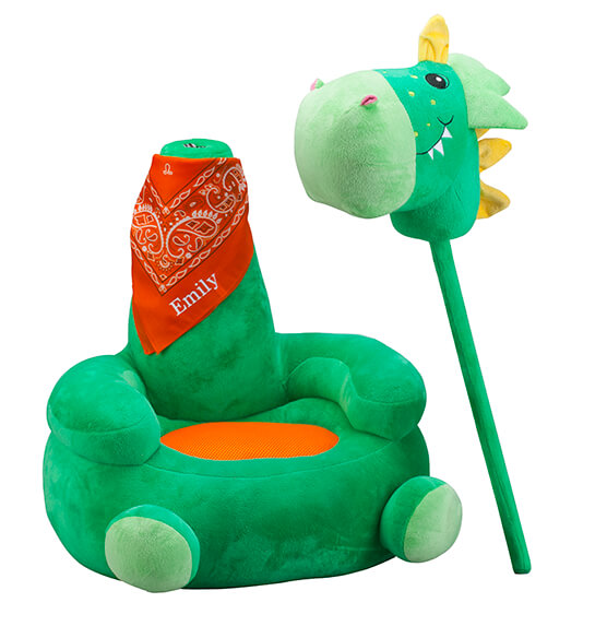 Personalized Children's 2-in-1 Dragon Chair - View 4