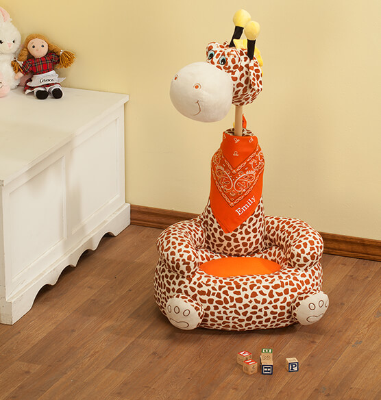 Personalized Children's 2-in-1 Giraffe Chair - View 2