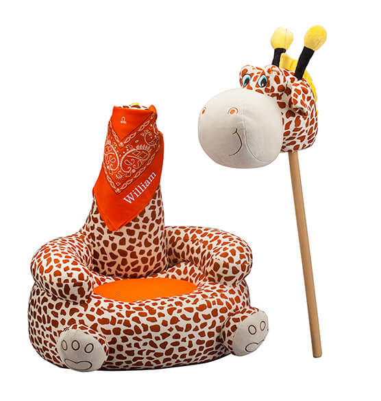 Personalized Children's 2-in-1 Giraffe Chair - View 4