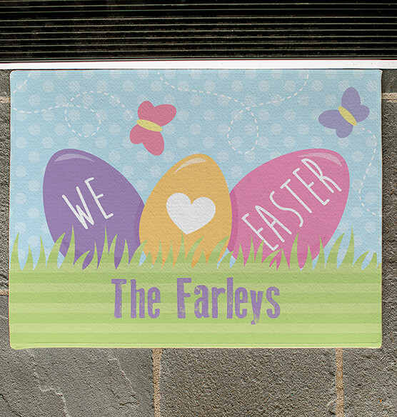 Personalized Easter Doormat - View 2