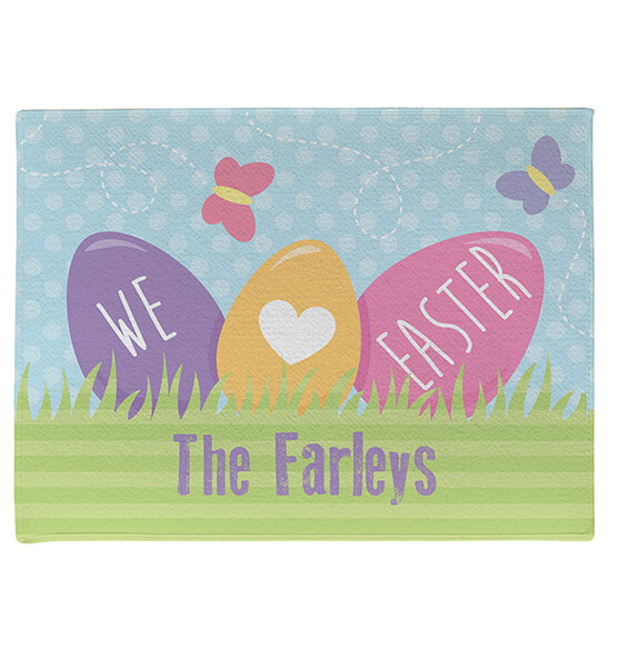 Personalized Easter Doormat - View 3