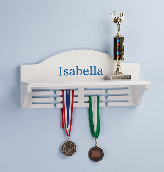 Personalized Medal and Trophy Holder - View 2