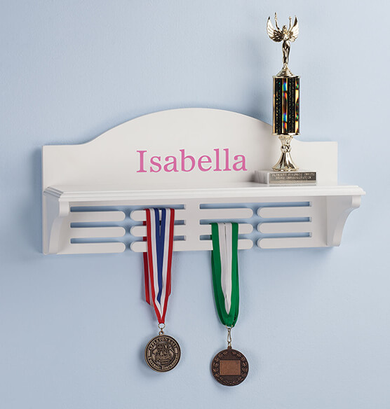 Personalized Medal and Trophy Holder - View 4