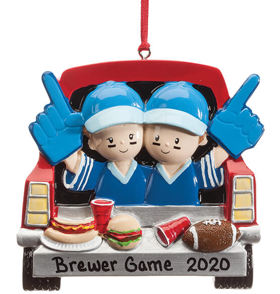 Personalized Tailgater Ornament - View 2