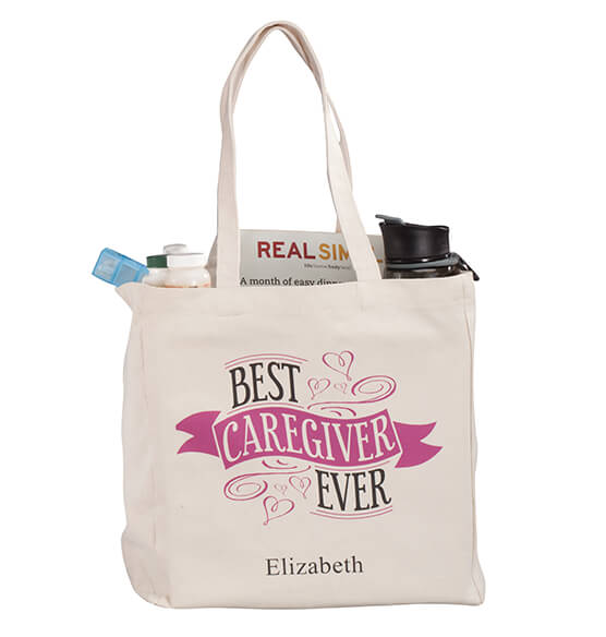 Personalized Caregiver Tote - View 4