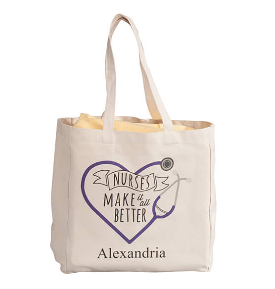 Personalized Nurses Tote - View 4